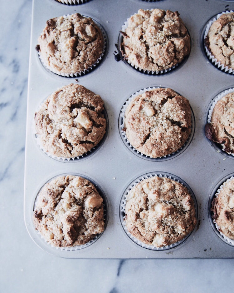 These easy, healthy Ginger Pear Muffins are great for breakfast on the go. Paleo Gluten Free