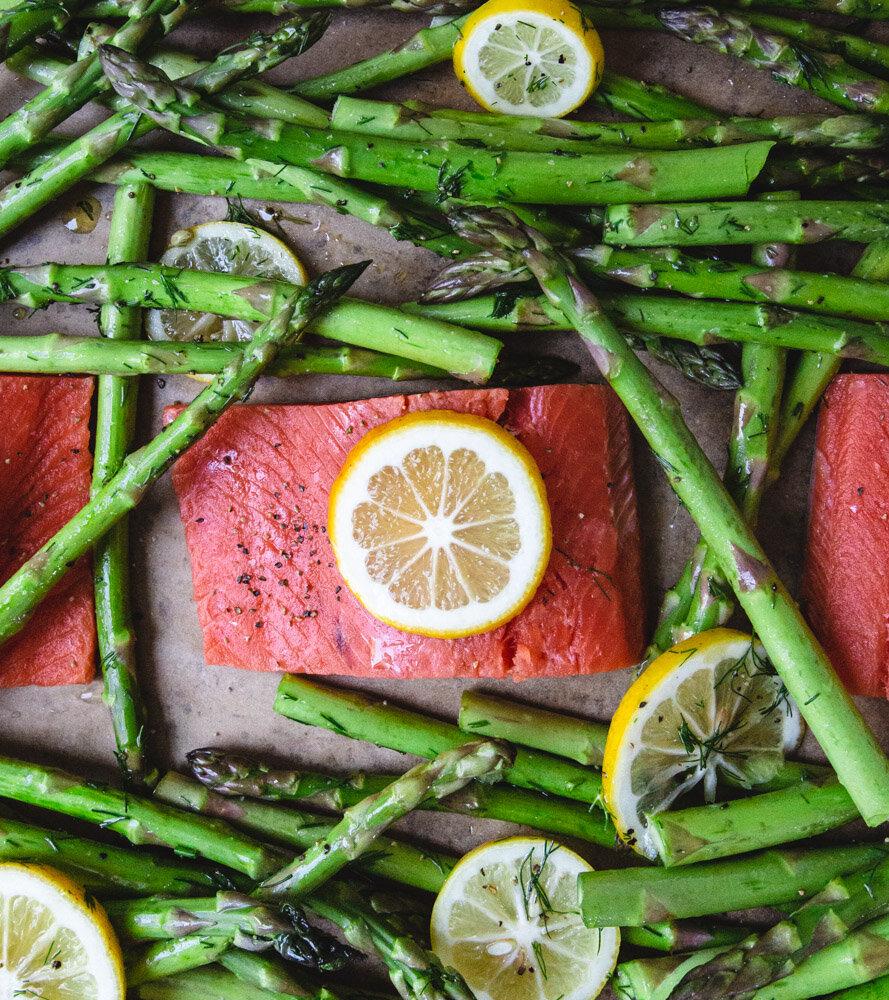 Baked Salmon With Dill