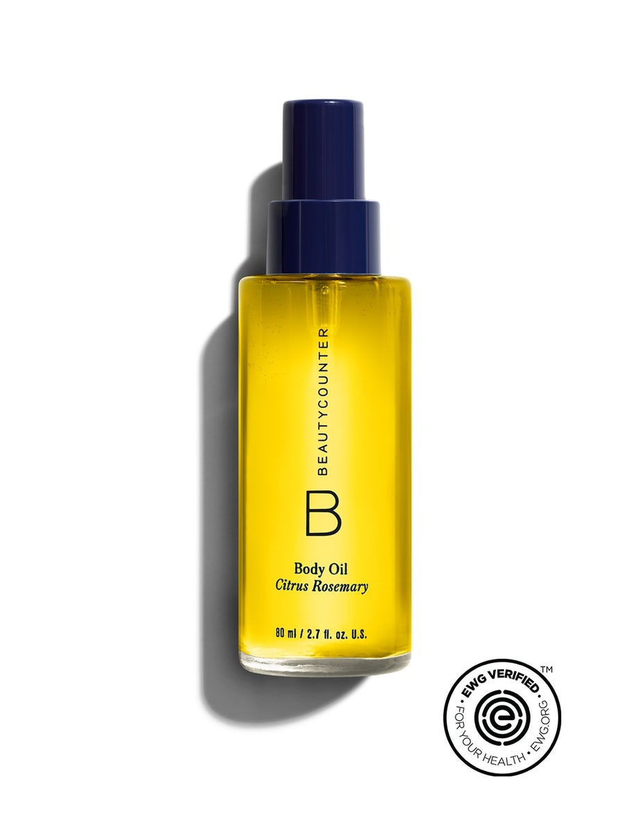 Beautycounter Rosemary Citrus Body Oil